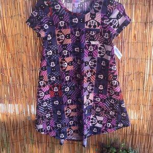 NWT LuLaRoe Girl's Size 12 Disney Mickey Dress